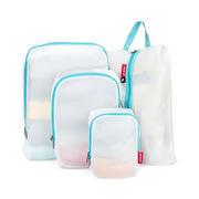 超轻衣物收纳套装 防水耐磨旅行收纳袋四件套 整理袋收纳包