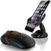 创意鼠标车载手机支架 汽车导航吸盘支架 展会礼品