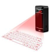 小巧轻便蓝牙激光虚拟投影 无线鼠标镭射键盘 手机笔记本电脑通用