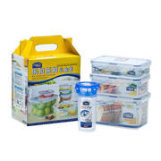 【乐扣乐扣】塑料保鲜盒礼盒套装4件套 HPL818S003