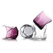 【波米欧利】进口卡斯欧匹 几何创意玻璃威士忌酒杯子3件套 S011K
