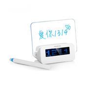 【好时达】LED大屏幕荧光留言板时钟闹钟 商场活动礼品
