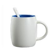 创意陶瓷马克杯460ml 酒桶型咖啡水杯 广告促销