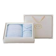 【竹印象】糖果毛巾套装礼盒 竹纤维毛巾三件套(浴巾+毛巾+方巾)