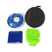 汽车清洁套装 洗车手套水桶清洁套装 车用清洁美容用品组合 ACE-381