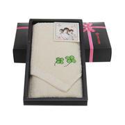 【洁丽雅】夏鸣系列纯棉毛巾礼盒——夏鸣4