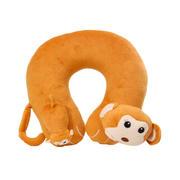 可爱卡通动物造型旅行颈椎U型枕 睡眠靠枕 培训奖品