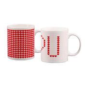 爱心时尚马克杯子 陶瓷变色杯 创意魔术杯礼品杯