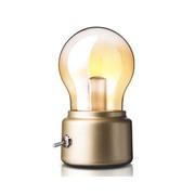 创意工业风格泡灯床头灯 迷你怀旧小夜灯 30元左右的小礼品