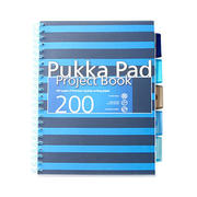 Pukka Pad海军风内分页可撕A4笔记本