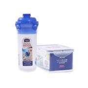 【乐扣乐扣】保鲜盒水杯两件套套装 塑料密封饭盒收纳盒 HPL931NS001