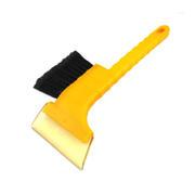 二合一牛津雪铲带毛刷 汽车多功能除冰铲 车用多功能玻璃清洁工具