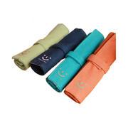 多啦森林韩版文具 微笑卷卷笔袋 帆布文具收纳包 环保小礼品