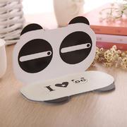 可爱熊猫表情便签本 理财留言本