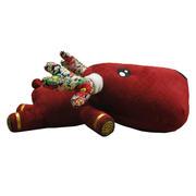 一鹿平安 限量版鹿皇竹炭抱枕公仔 去味摆件竹炭包 创意实用小礼品