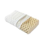 泰国天然双层枕套乳胶枕 健康枕芯 护颈椎按摩记忆棉枕 公司小礼品