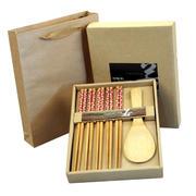 竹木制品 五筷一勺礼盒套装 经济实用礼品