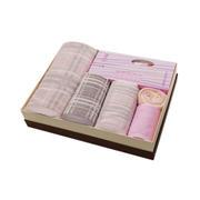 【竹印象】雅格家庭大套装 竹纤维毛巾礼盒