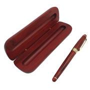 花梨红木签字笔套装 高档红木商务礼品 送客户