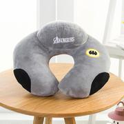居家旅行复仇者U型护颈枕 蝙蝠侠睡枕 活动礼品