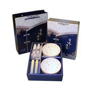 青花瓷两碗两筷套装 有哪些健康实用的百元礼品