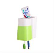 卡扣炫彩挂壁洗漱杯 牙刷架