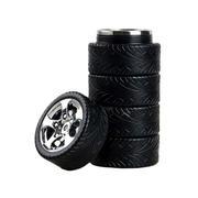 创意轮胎形车载不锈钢密封保温杯320ml 汽车活动礼品 创意礼品