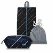 【CHOOCI】马卡龙日常收纳三件套(随身多用包+鞋袋+抽绳收纳袋)CM0301