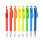 可印二维码多色可选圆珠笔广告笔 可定制logo