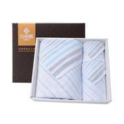 【洁丽雅】纯棉方巾毛巾浴巾三件套 商务礼品送列表
