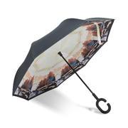 车用创意双层免持式风情反向伞 礼品推荐