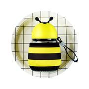 卡通小蜜蜂玻璃水杯 广告杯 便宜精致的小礼品