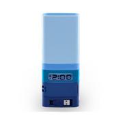 【LEXON】USB笔筒收纳盒胶带座时钟一体办公组合用品LD110 创意礼品