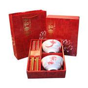 家和富贵 两碗两筷套装 便宜又实用的小礼品