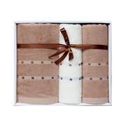 【洁丽雅】竹影竹纤维系列毛巾礼盒套装——竹影4