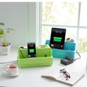 多功能防漏电电源线插座收纳盒 桌面整理盒 年会小礼品20以内