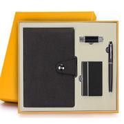 笔记事本四件套装 实用纪念品