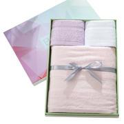 断档竹纤维毛巾浴巾三件套礼盒装 商务礼品面巾 健康的礼品