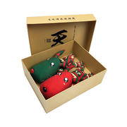 一鹿平安 圣诞鹿礼物 车用竹炭包除味除甲醛活性竹炭公仔 活动赠送小礼品