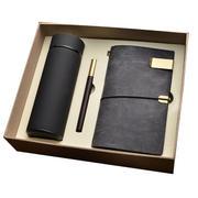 保温杯+红木笔+旅行本三件套礼盒装 公司生日礼物 华为客户礼品