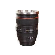 创意单反相机镜头不锈钢杯400ml 创意展会礼品