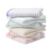 全棉100%两条装虫虫条纹精梳毛巾礼品