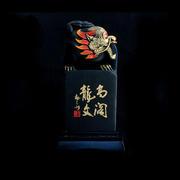 【金乌炭雕】静水龙龟 手工精雕 办公桌面摆件 炭雕工艺品