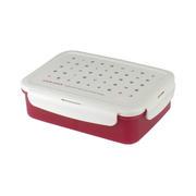 【乐扣乐扣】饭盒长方形密封保鲜盒1.3L HPL744HB/HW