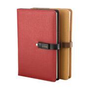 多功能卡位带U盘(16G)平装笔记本 企业创意礼品